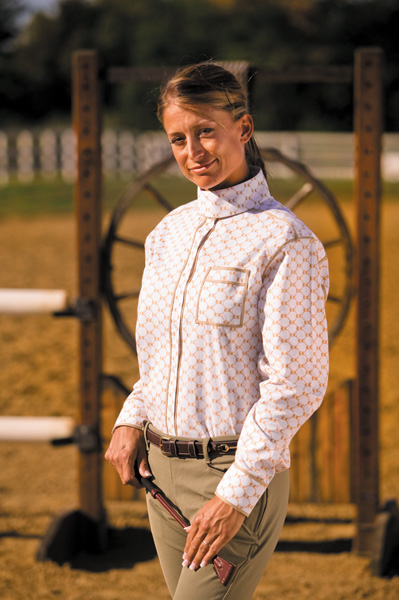Equine Couture Tuscany Long Sleeve Show Shirt Ladies