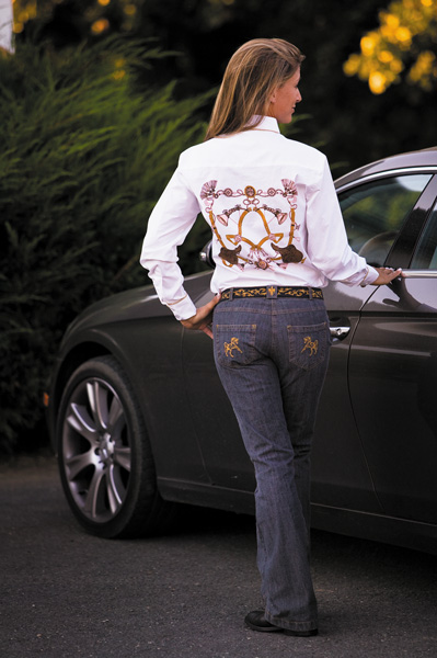 Equine Couture Nottingham Jeans Ladies