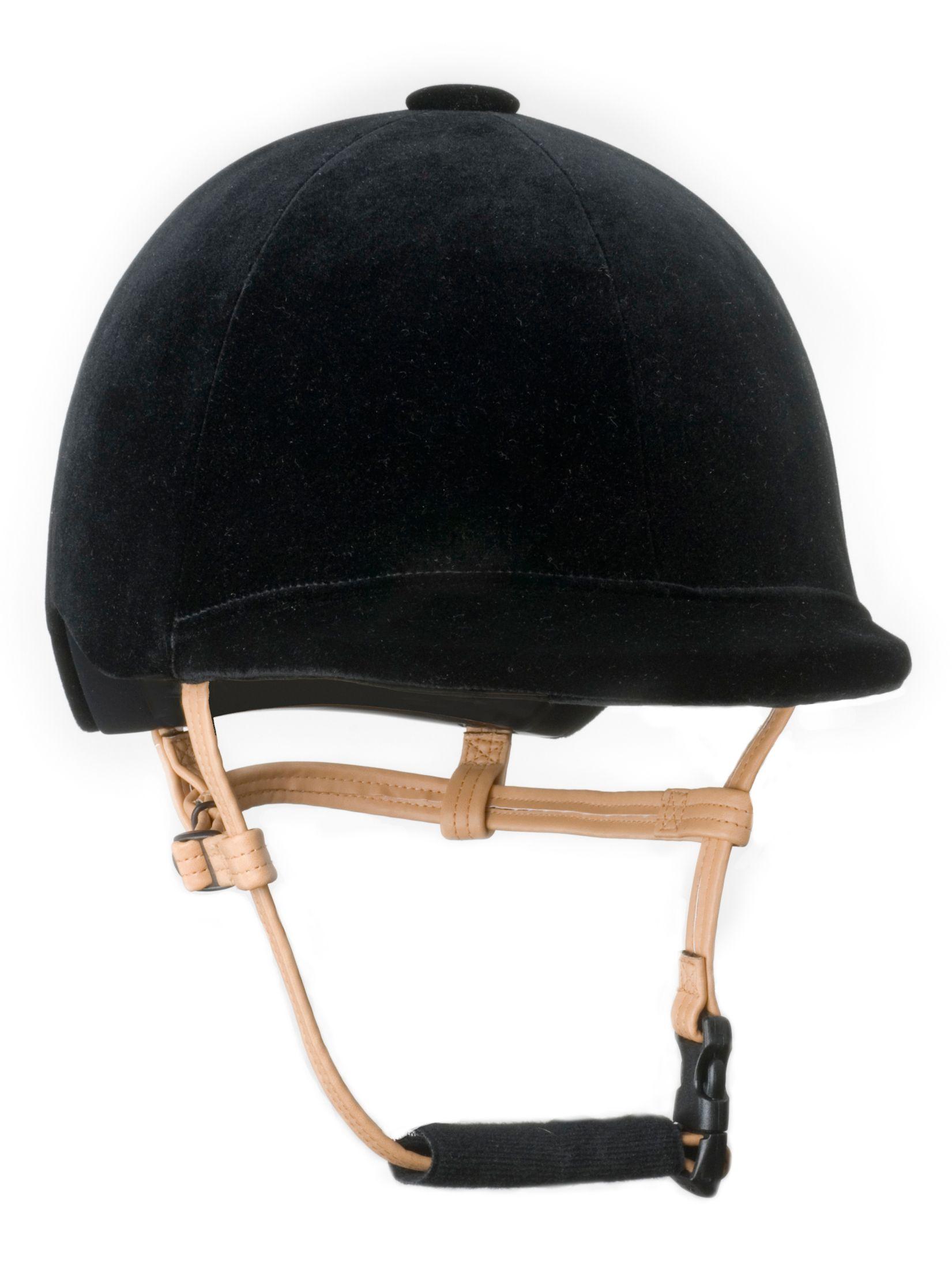 Pegasus Adult Classic Velvet Show Helmet