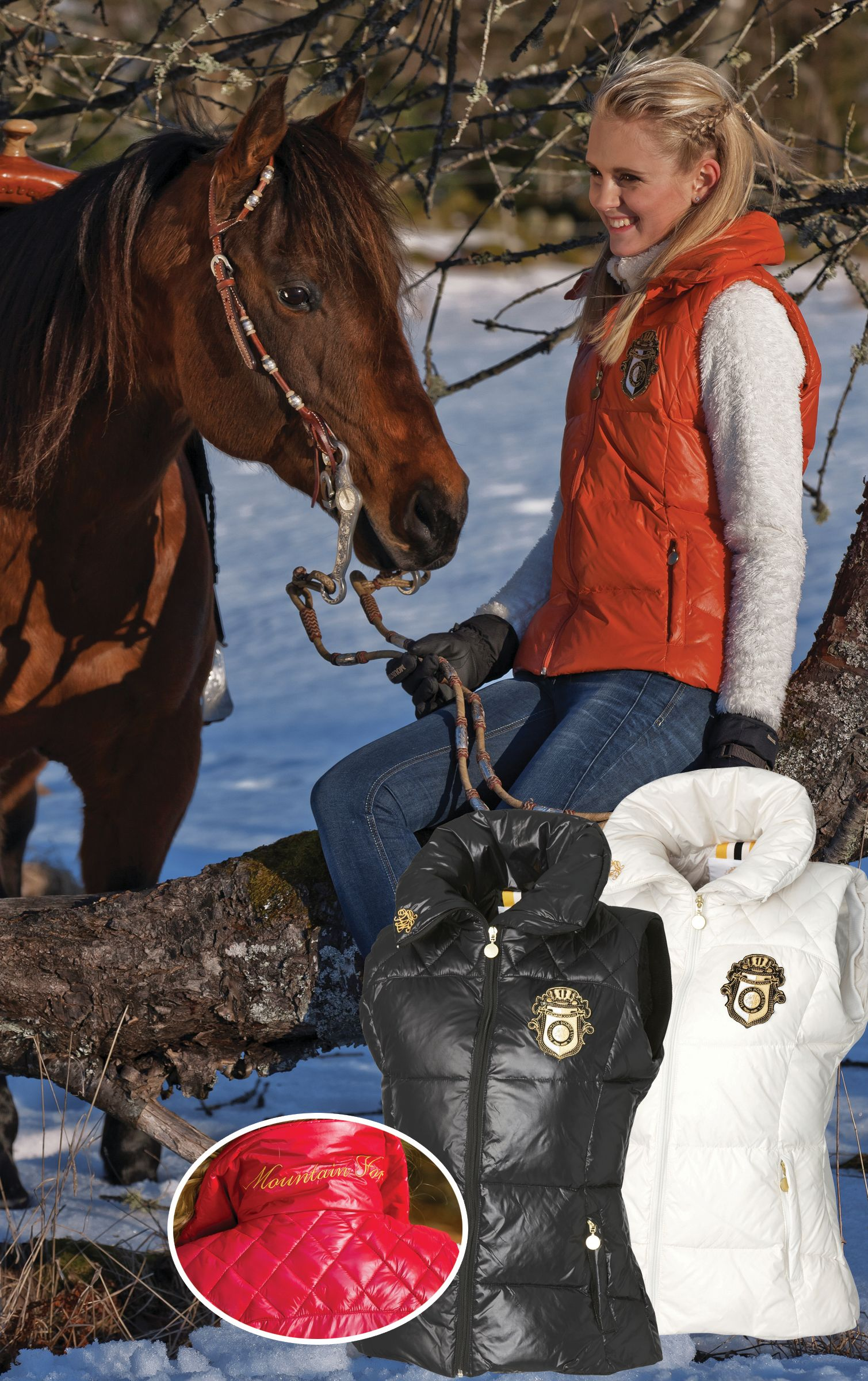 Mountain Horse Ladies Regal Down Vest