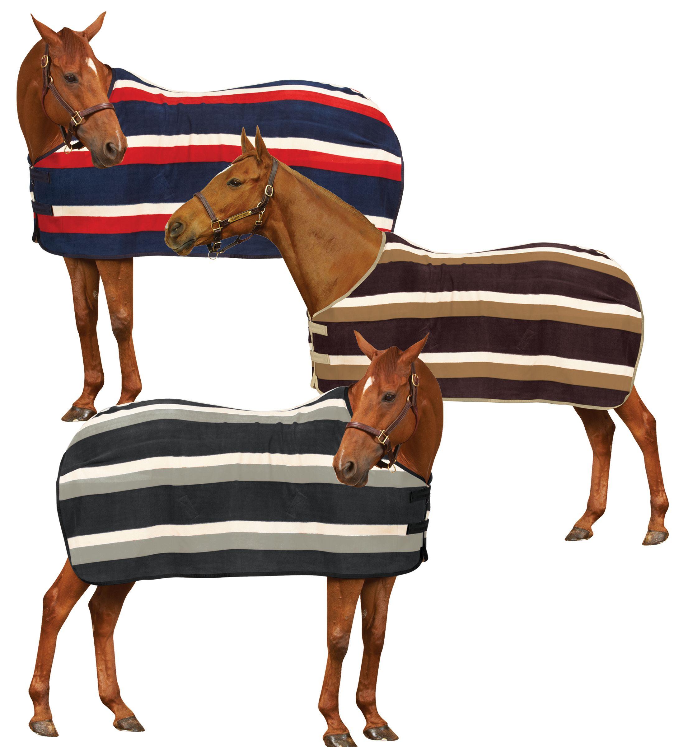 Centaur Newmarket Stripe Flce Cooler