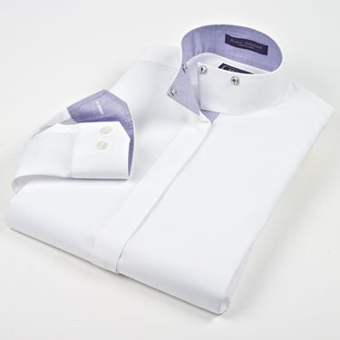 Beacon Hills Ladies Diamond Ridge Wrap Collar Show Shirt