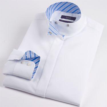Essex Nips Dakota Wrap Collar Shirt - Ladies