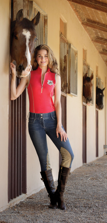 Goode Rider Ladies Jean Knee Patch Breeches