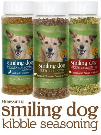 Herbsmith Smiling Dog Kibble Seasoning