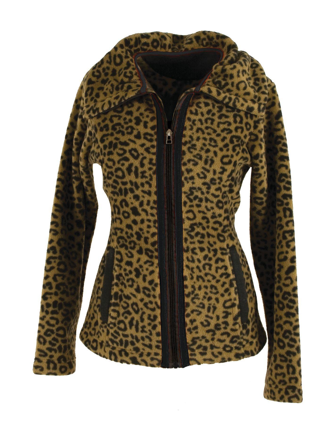 Horseware Ladies Newmarket Leopard Camille Jacket