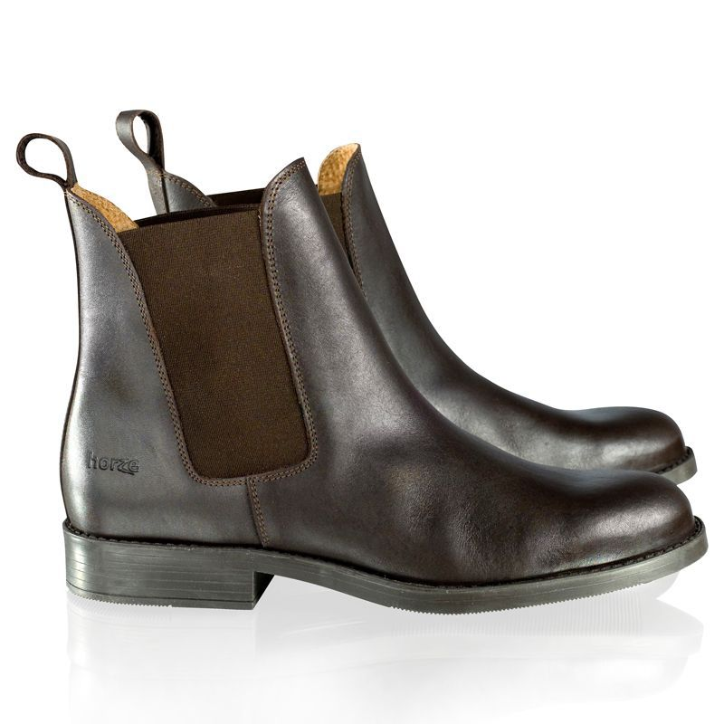 Horze Adult Classic Leather Jodhpur Boots