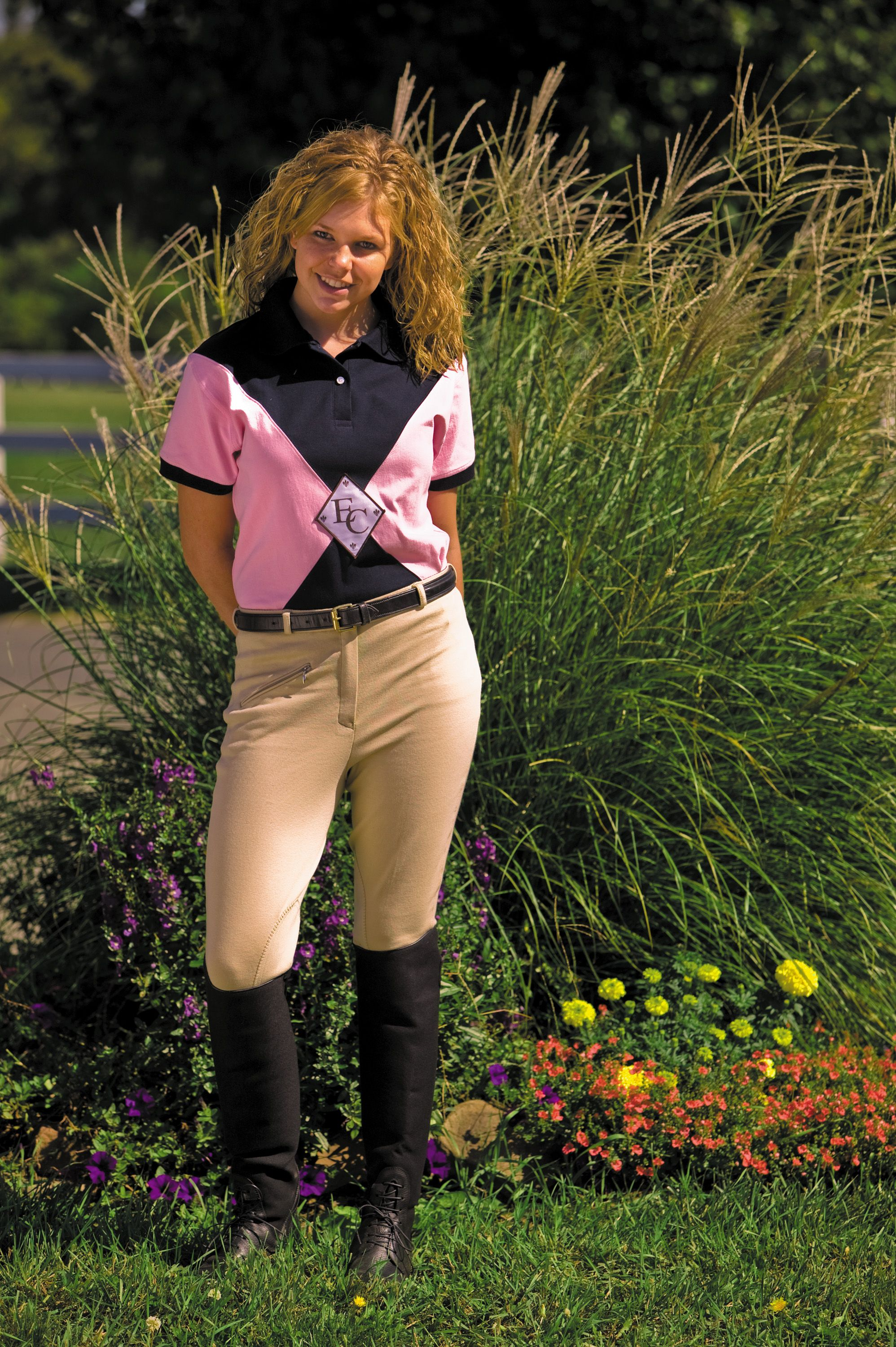 TuffRider Cotton Knee Patch Breeches
