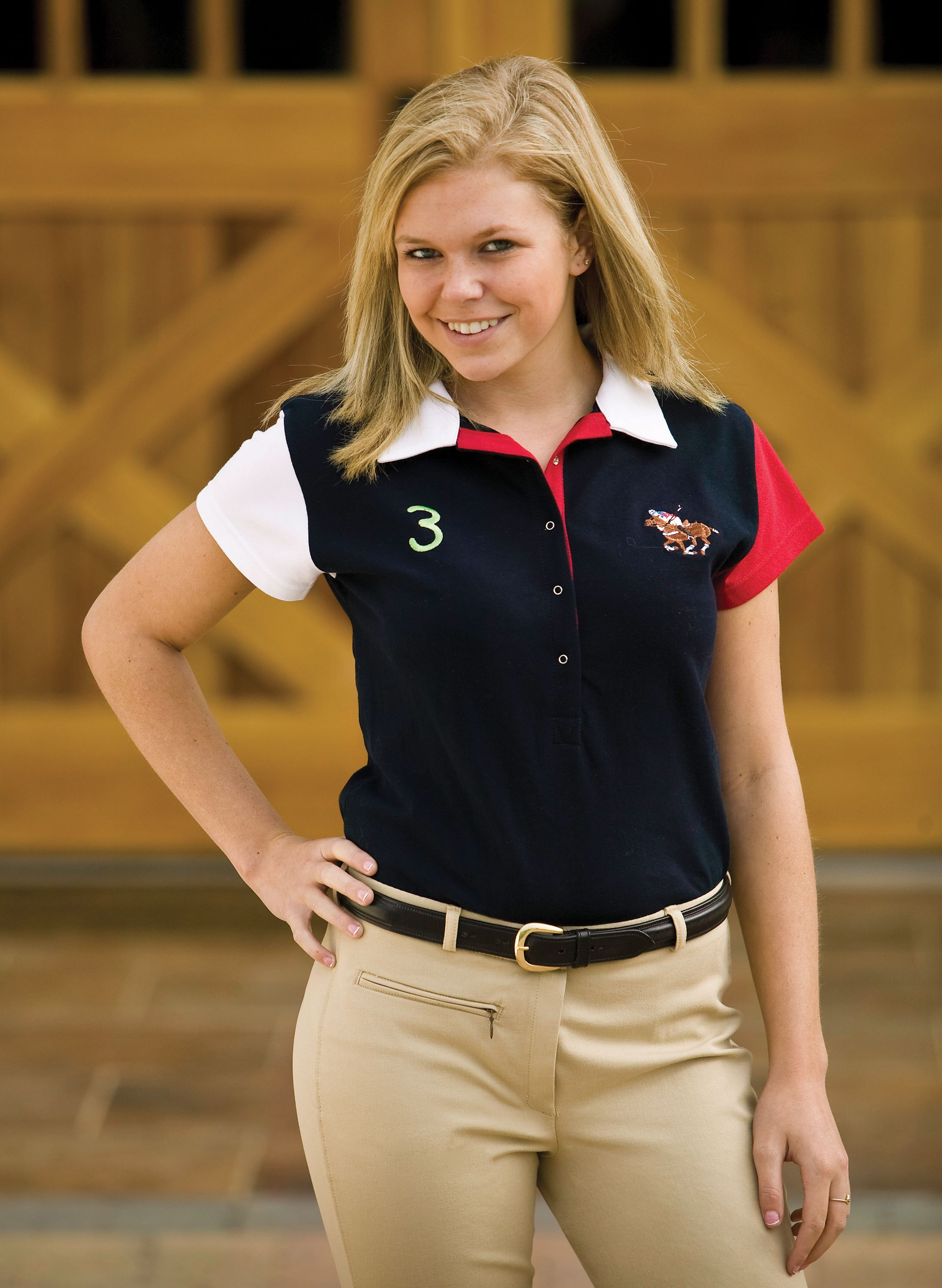 Jaipur Polo Company Ladies Palermo Polo Shirt