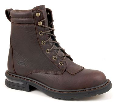 Roper Lace Up Steel Toe Pneumatic Work Boots - Mens