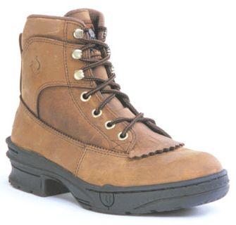 Roper Crossrider Horseshoe Boots - Ladies