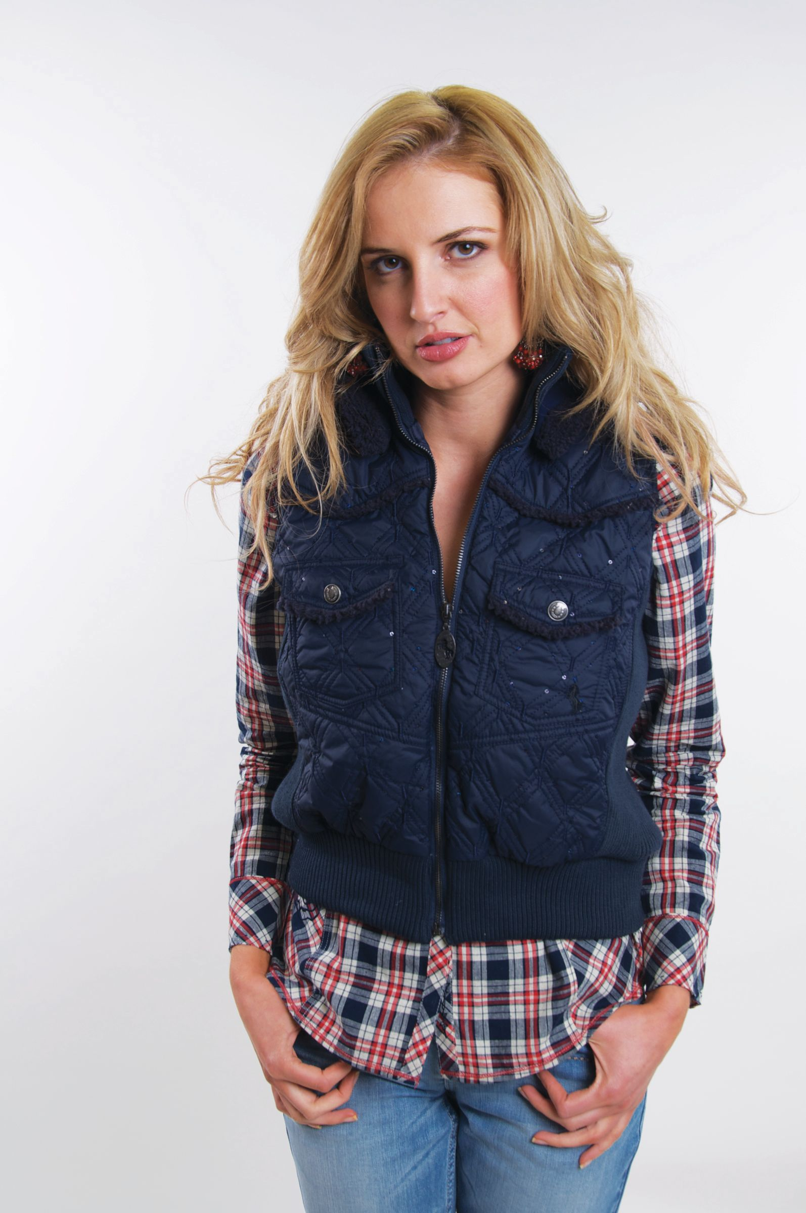 Cowgirl Up Quilted Vest