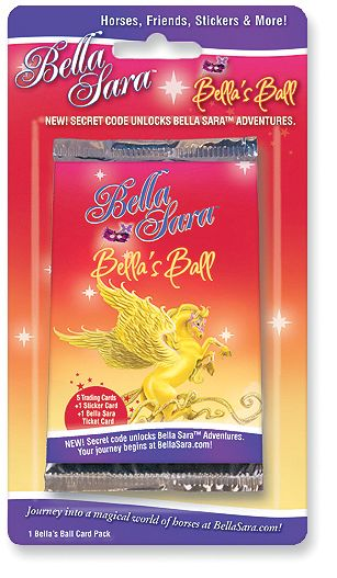 Bella Sara Bellas Ball Single Card Pack