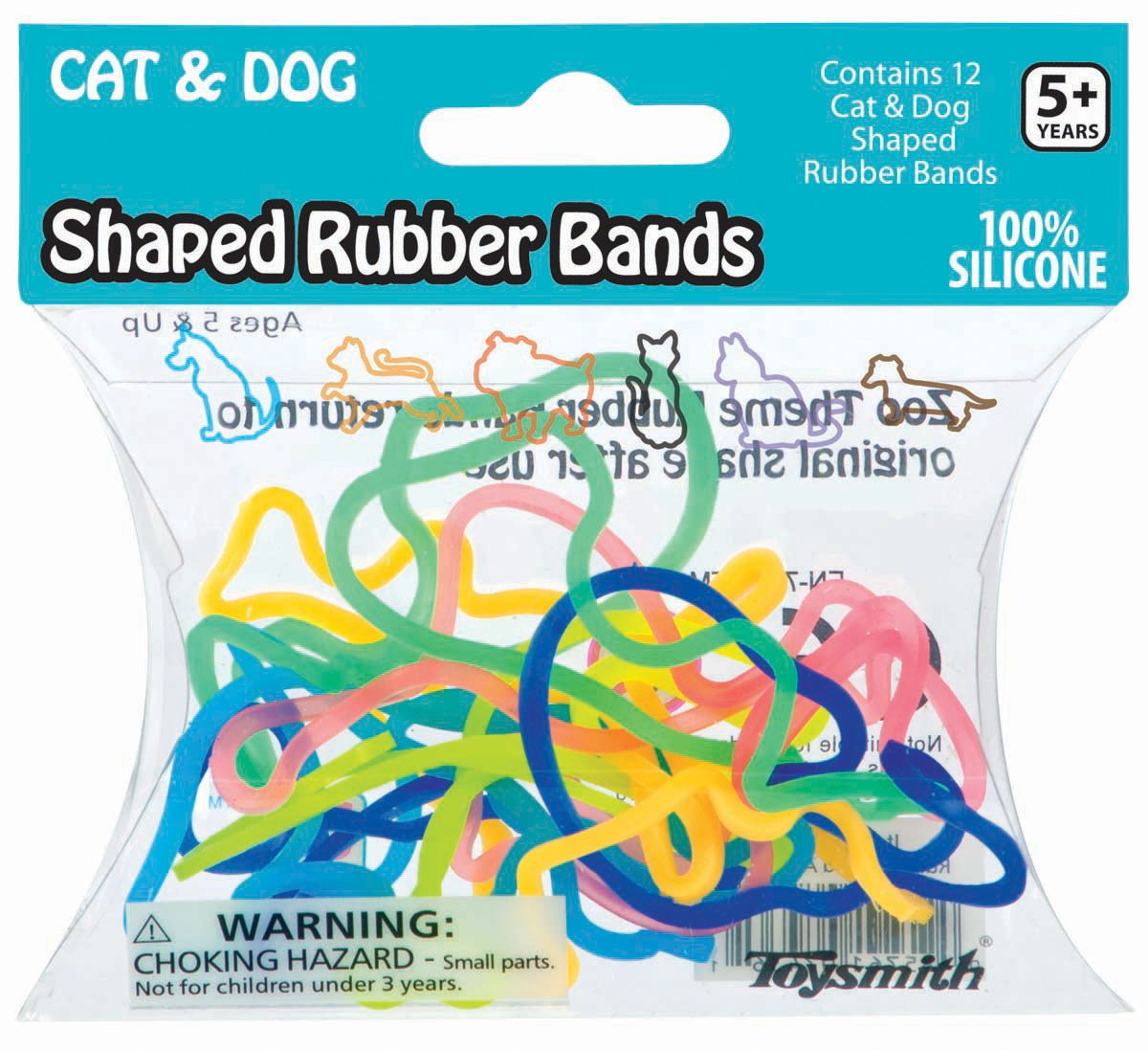 Kelley Shaped Rubber Bands