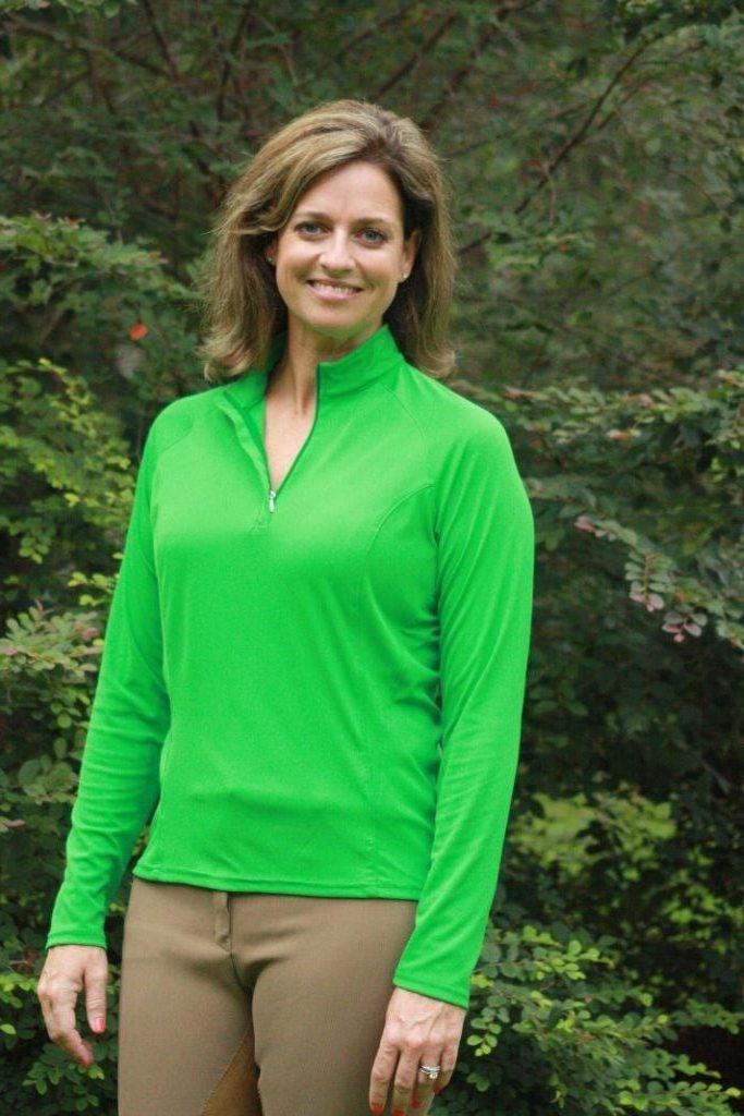 NoZone Ladies Cirrus Equestrian Long Sleeve Shirt