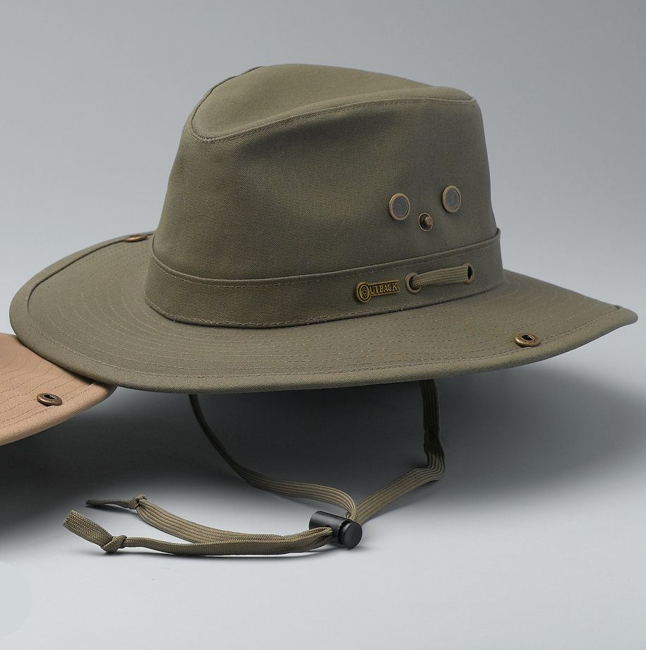 Outback Trading Canvas River Guide Hat