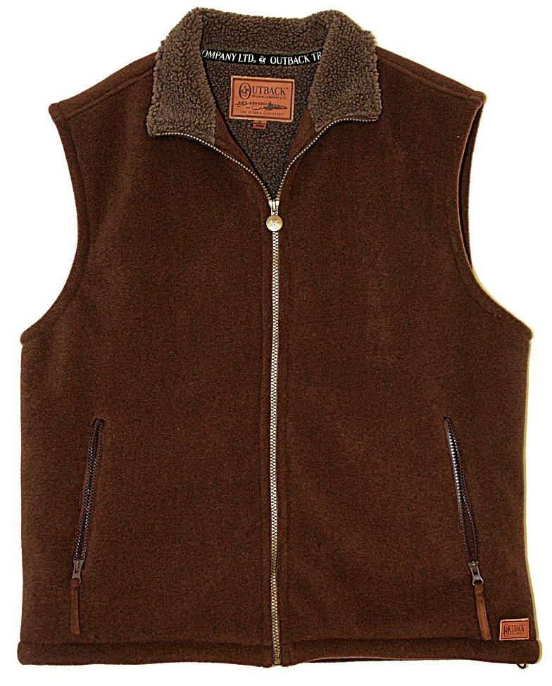Outback Trading Unisex Summit Fleece Vest