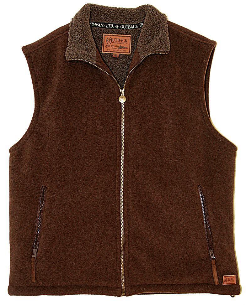Outback Trading Unisex Summit Fleece Vest