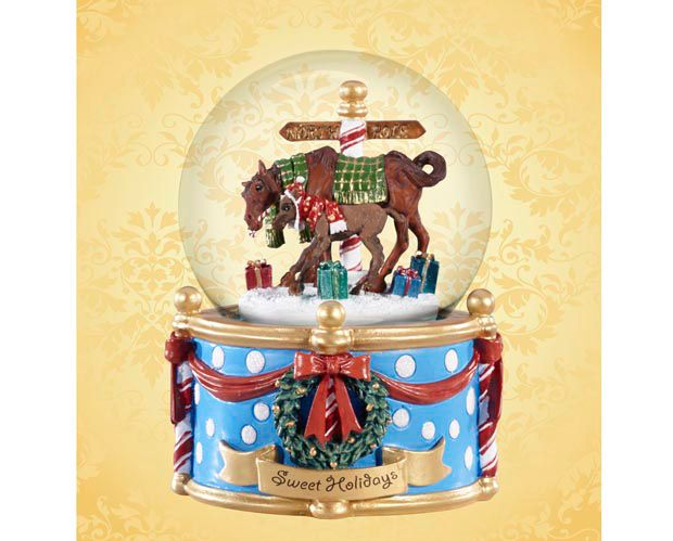 Breyer Sweet Holiday Musical Globe 2014