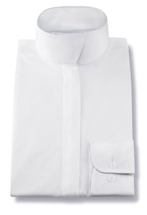 RJ Classics Snap Collar Show Shirt - Ladies, Long Sleeve, White