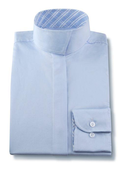 RJ Classics Essential Wrap Collar Short Sleeve Shirt - Girls