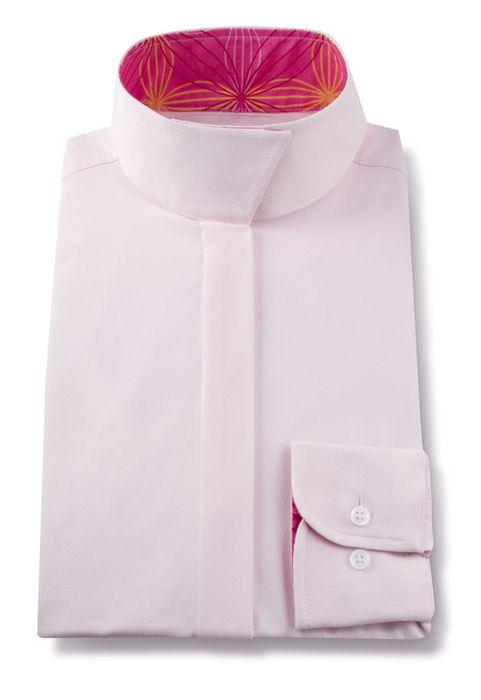 RJ Classics Prestige Wrap Collar Show Shirt - Girls, Pink/Pink