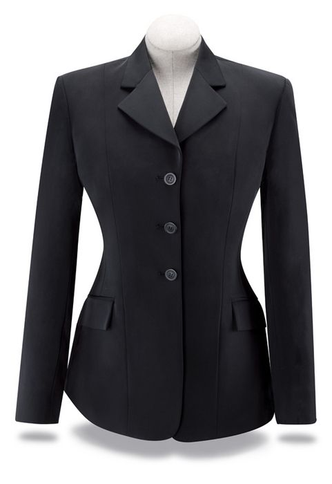 RJ Classics Xtreme Softshell Show Coat - Girls, Black
