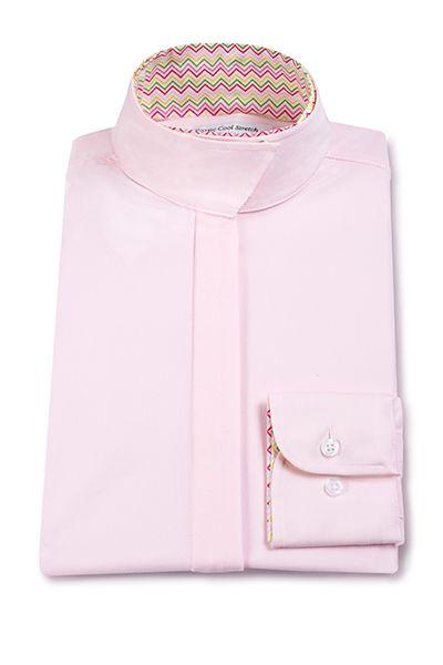 RJ Classics Prestige Show Shirt - Ladies, Pink/Chevron