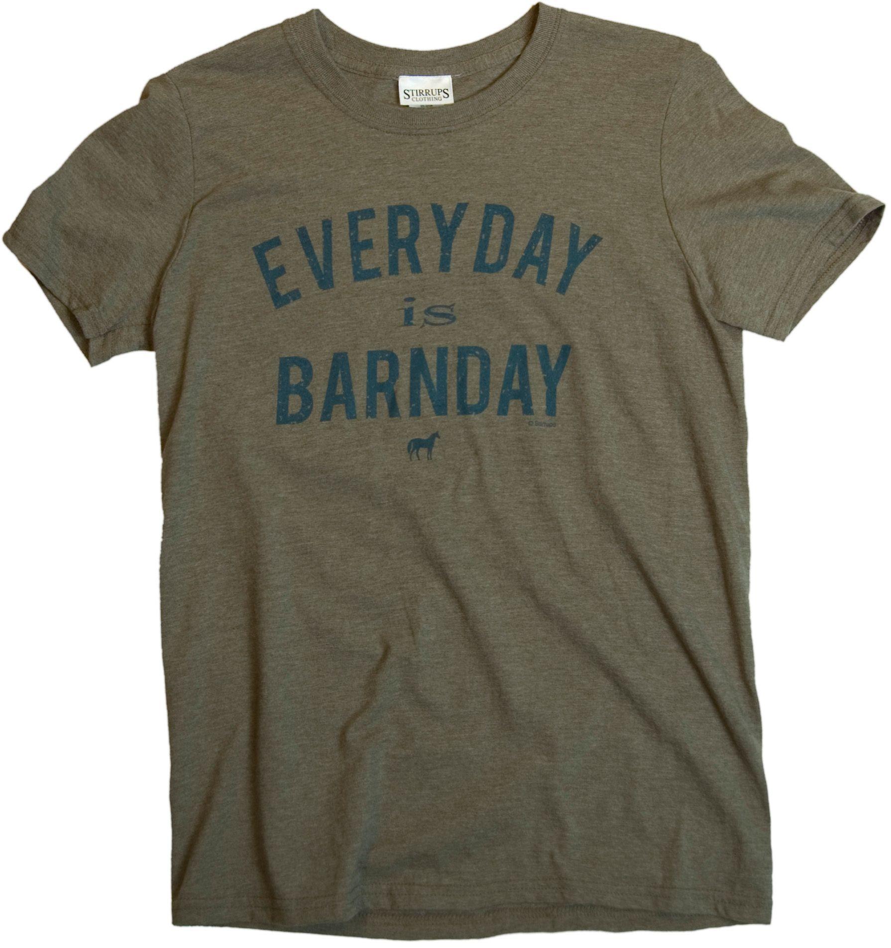 Stirrups Everyday Is Barnday Tee - Unisex