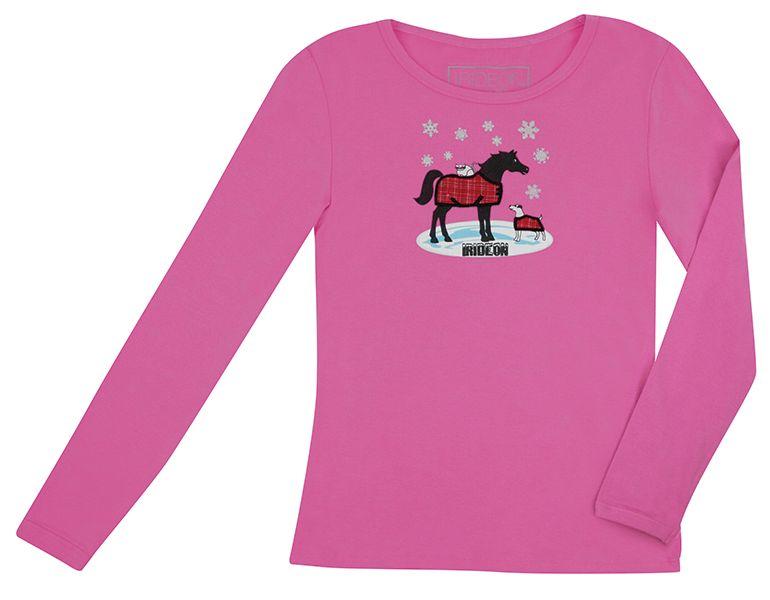 Irideon Pup N Pony Long Sleeve Tee - Kids