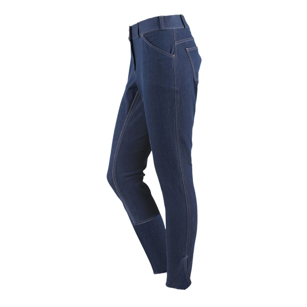 On Course Ladies Kempton Euro Seat Denim Breeches