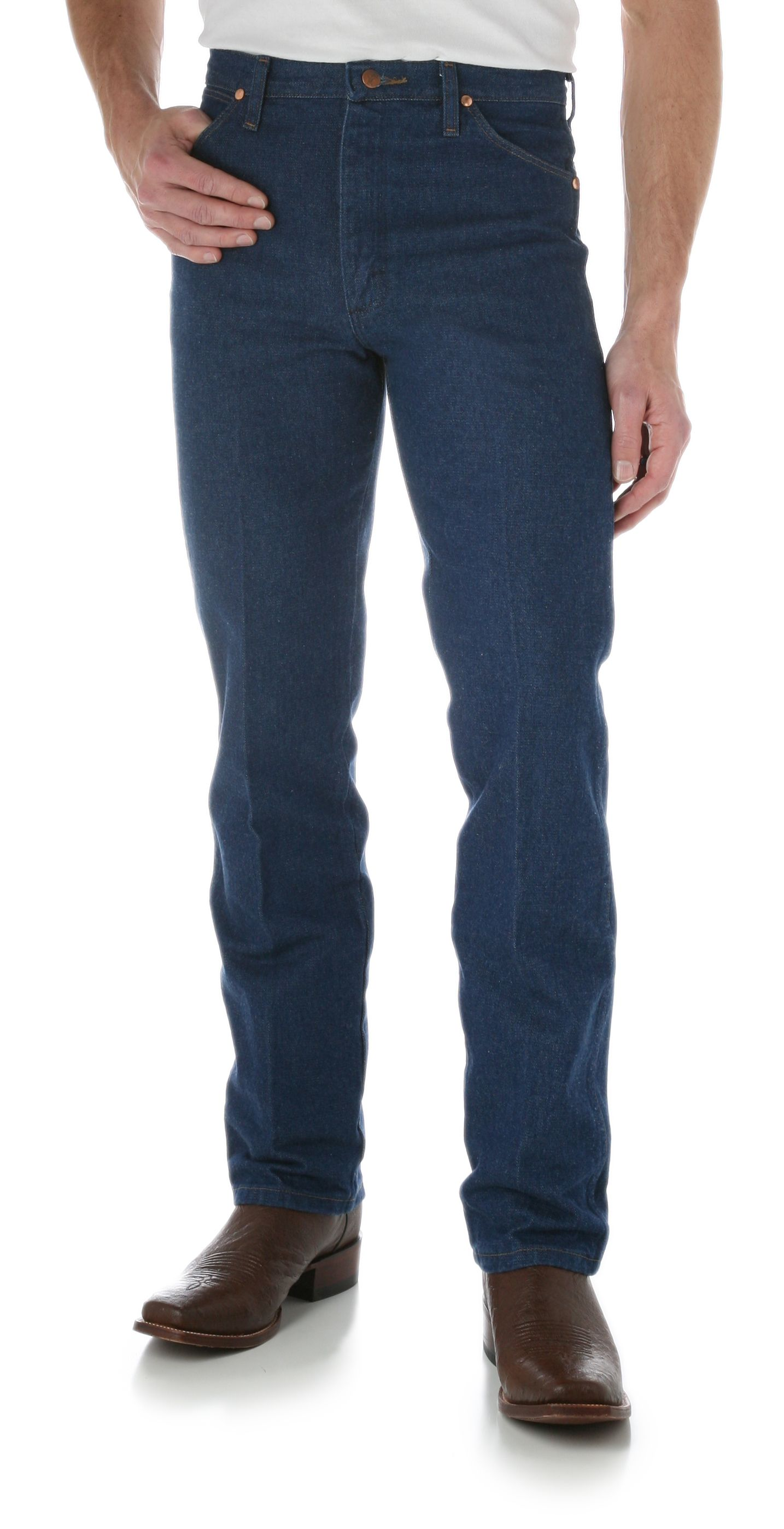 Wrangler Mens Tall and Slim Cowboy Cut Jeans
