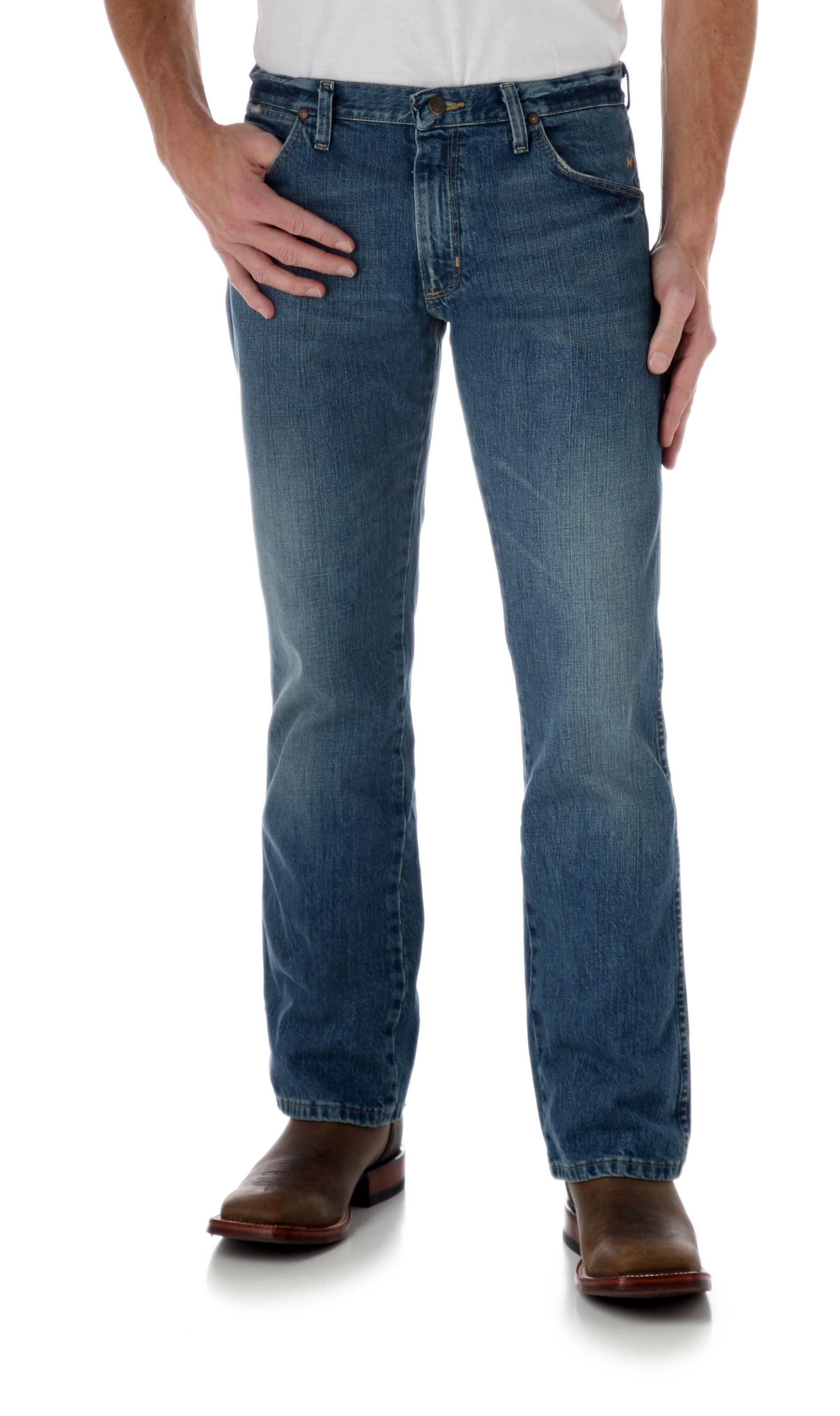 Wrangler Mens Premium Patch Yuma #77 Slim Fit Jeans (77MWZWO)
