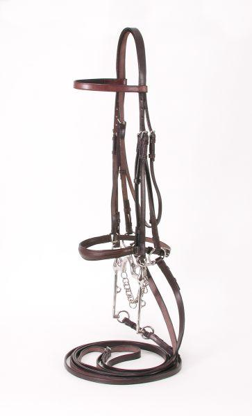 Silver Fox Weymouth Show Bridle