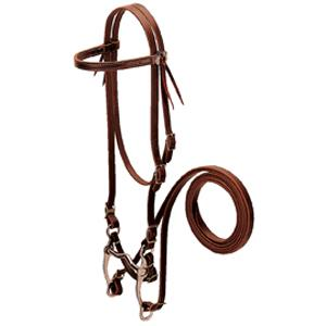 Weaver Browband Bridle with Single Cheek Buckle