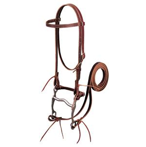 Weaver Latigo Leather Browband Bridle with Single Cheek Buckle