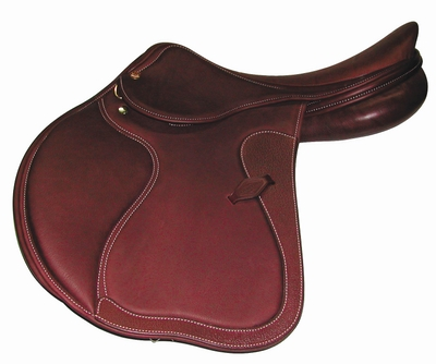 HDR Rivella Show Jumping Saddle with covered flaps (Regular)