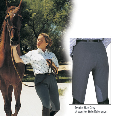 Equilibre Pleated Ladies Breeches Knee Patch