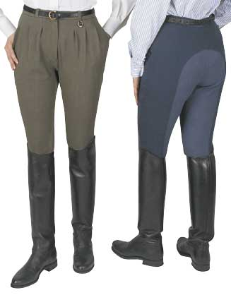 Equilibre Pleated Ladies Breeches Full Seat