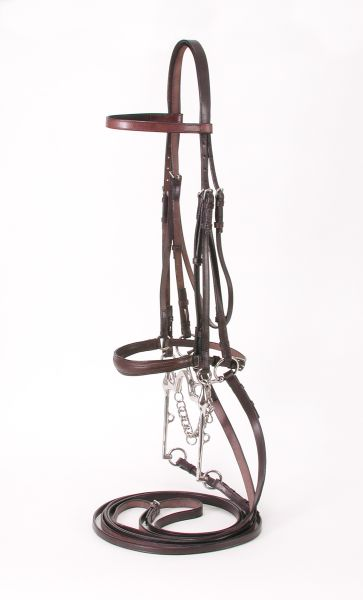 EquiRoyal Weymouth Show Bridle