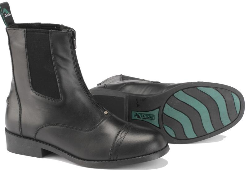 Dublin Advance Zip Front Paddock Ladies Boots