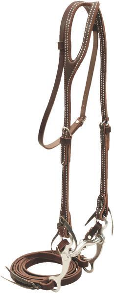Billy Cook Saddlery One Ear Pony Bridle With Curb Bit