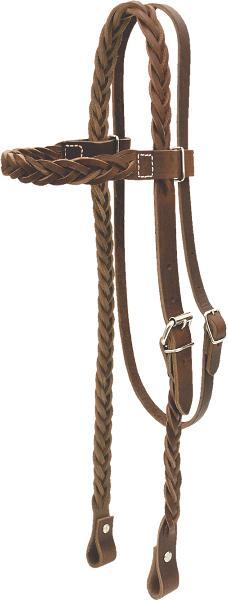 Billy Cook Saddlery Five Plait Headstall