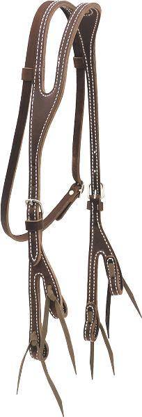 Billy Cook Saddlery Shaped Ear Bosal Headstall