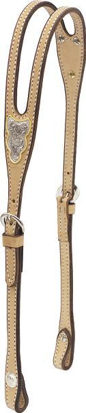 Billy Cook Saddlery Shaped Ear Headstall