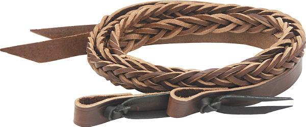 Billy Cook Saddlery 5 Plait Mystery Braid Reins