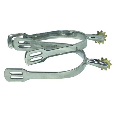Coronet Dressage Brass Rowel Spurs