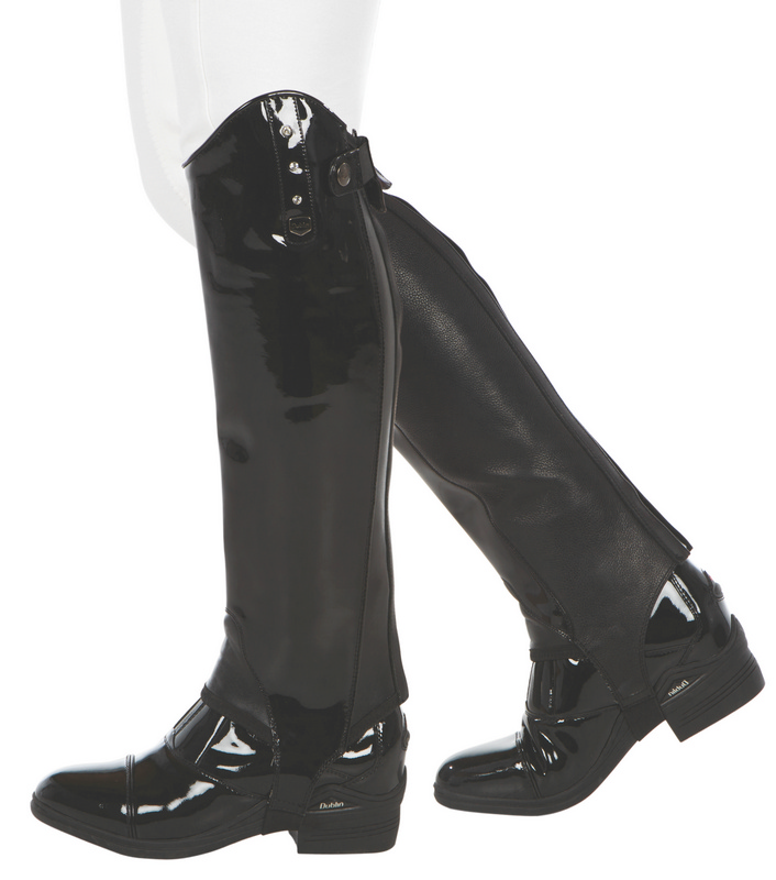 Dublin Intensity Patent Leather Gaiters