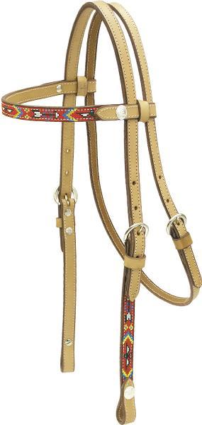 Billy Cook Saddlery Thunderbird Browband Headstall