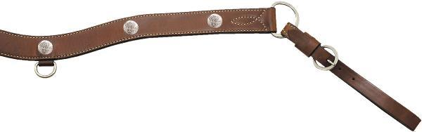 Billy Cook Saddlery Breastcollar With Sliver Conchos
